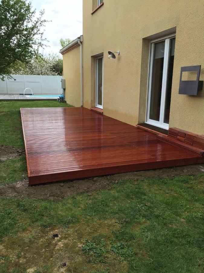 Amenagement d une terrasse exterieure - Revetement terrasse exterieure ...
